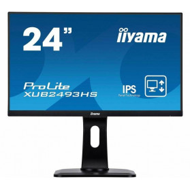 "Monitor iiyama XUB2493HS-B1 - 23,8"", 1920x1080 (Full HD), IPS, 4 ms, pivot - zdjęcie 7"