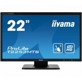 "Monitor iiyama ProLite T2253MTS-B1 - 21,5"", 1920x1080 (Full HD), TN, 2 ms, dotykowy - zdjęcie 7"