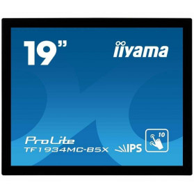 """Monitor iiyama ProLite TF1934MC-B5X - 19"""", 1280x1024 (SXGA), 5:4, IPS, 14 ms, dotykowy - zdjęcie 5"""