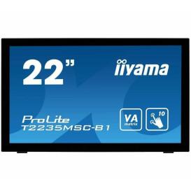 "Monitor iiyama ProLite T2235MSC-B1 - 21,5"", 1920x1080 (Full HD), VA, 6 ms, dotykowy - zdjęcie 6"