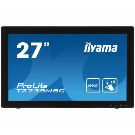 """Monitor iiyama ProLite T2735MSC-B2 - 27"""", 1920x1080 (Full HD), AMVA+, 5 ms, dotykowy - zdjęcie 6"""
