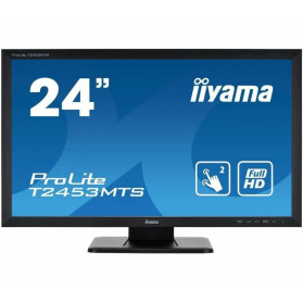 "Monitor iiyama ProLite T2453MTS-B1 - 23,6"", 1920x1080 (Full HD), VA, 4 ms, dotykowy - zdjęcie 6"