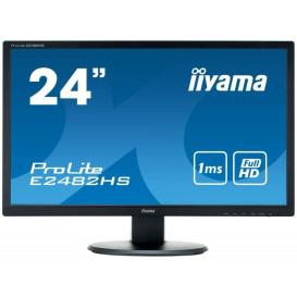"Monitor iiyama E2482HS-B1 - 24"", 1920x1080 (Full HD), TN, 1 ms - zdjęcie 5"