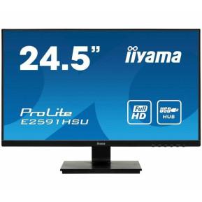 "Monitor iiyama ProLite E2591HSU-B1 - 24,5"", 1920x1080 (Full HD), TN, 1 ms - zdjęcie 5"