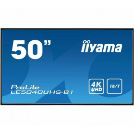 """Monitor iiyama ProLite LE5040UHS-B1 - 50"""", 3840x2160 (4K), AMVA3, 8 ms - zdjęcie 7"""
