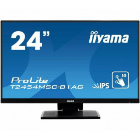 """Monitor iiyama ProLite T2454MSC-B1AG - 23,8"""", 1920x1080 (Full HD), IPS, 4 ms, dotykowy - zdjęcie 6"""