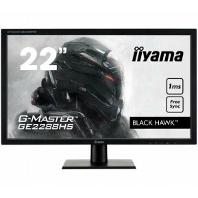 "Monitor iiyama Black Hawk GE2288HS-B1 - 21,5"", 1920x1080 (Full HD), TN, 1 ms - zdjęcie 5"
