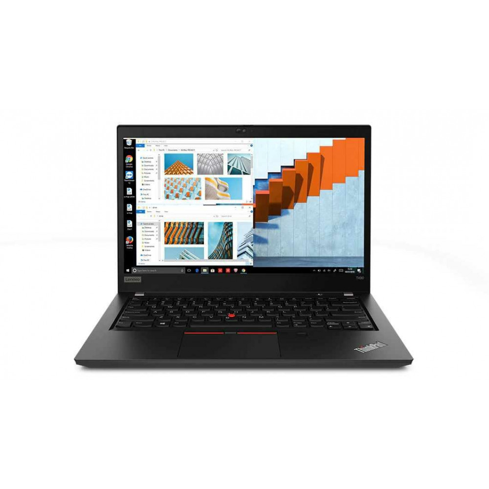 "Zdjęcie produktu Laptop Lenovo ThinkPad T490 20N2000FPB - i5-8265U/14"" Full HD IPS dotykowy/RAM 8GB/SSD 512GB/Modem WWAN/Windows 10 Pro"