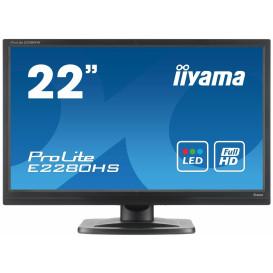 "Monitor iiyama ProLite E2280HS-B1 - 21,5"", 1920x1080 (Full HD), TN, 2 ms - zdjęcie 6"