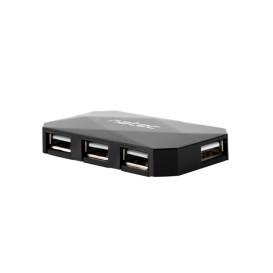 Natec NHU-0647 HUB USB 2.0 NATEC LOCUST 4-PORTY CZARNY