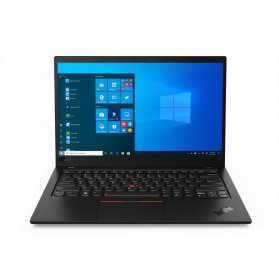 "Laptop Lenovo ThinkPad X1 Carbon Gen 8 20U90046PB - i7-10510U, 14"" 4K IPS HDR, RAM 16GB, 512GB, LTE, Black Weave, Windows 10 Pro, 3OS - zdjęcie 8"