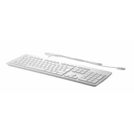 HP USB Grey Business Slim Keyboard Z9H49AA