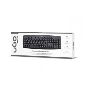 uGo UKL-1073 KLAWIATURA USB uGo KL0-01 US 1,4M CZARNA