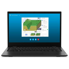 "Laptop Lenovo 14w 81MQ000DPB - A6-9220C, 14"" FHD, RAM 4GB, eMMC 128GB, AMD Radeon R5, Czarno-szary, Windows 10 Pro, 1 rok Door-to-Door - zdjęcie 4"