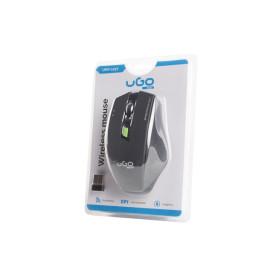 UGo UMY-1077 MYSZ UGO MY-04 BEZPRZEWODOWA 1800DPI CZARNA OPTYCZNA USB