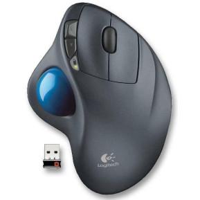 Logitech M570 Trackball Mouse USB 910-001882