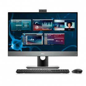 "Komputer All-in-One Dell Optiplex 7480 N003O7480AIO - i5-10500, 23,8"" FHD IPS, RAM 8GB, SSD 256GB, Srebrny, WiFi, Windows 10 Pro, 3OS - zdjęcie 3"
