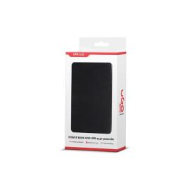 UGo UPB-1137 POWER BANK UGO UPB-1137 5000MAH CZARNY ALUMINIUM USB LI-POLY 1A