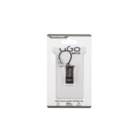 UGo UCZ-1005 MINI CZYTNIK KART USB UGO MICRO SD ALU 480 MB/S