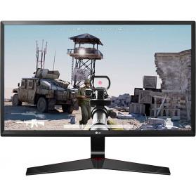 "Monitor LG 24MP59G-P - 24"", 1920x1080 (Full HD), IPS, FreeSync, 1 ms, Czarny - zdjęcie 5"