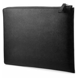 HP 13.3 Leather Black Sleeve 2VY62AA - Futerał ochronny
