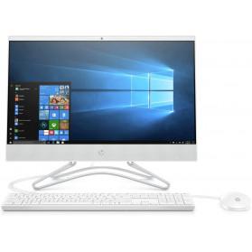 "Komputer All-in-One HP 205 G4 9US07EA - Athlon Silver 3050U, 21,5"" FHD IPS, RAM 8GB, SSD 256GB, Biały, WiFi, DVD, Windows 10 Pro, 3OS - zdjęcie 1"