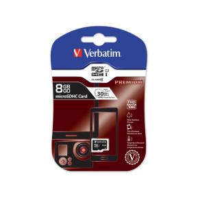 Verbatim 44012 KARTA PAMIĘCI VERBATIM MICRO SDHC 8GB CLASS 10