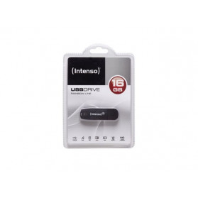 Intenso 3502470 PENDRIVE INTENSO 16GB RAINBOW LINE BLACK