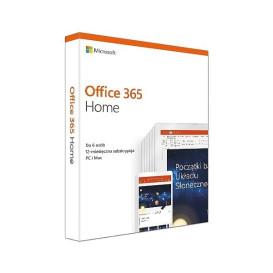 Microsoft Office 365 Home PL Box P4 Subskrypcja 1Rok / do 6Użytkowników / 5Urządzeń Win/Mac 6GQ-01016. Zastępuje P/N: 6GQ-00704