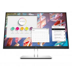 """Monitor HP E24q G4 9VG12AA - 24"""", 2560x1440 (QHD), 60Hz, IPS, 5 ms, pivot, Srebrny - zdjęcie 6"""