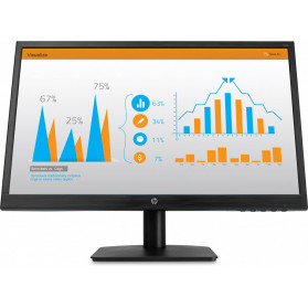 "Monitor HP N223 3WP71AA - 21,5"", 1920x1080 (Full HD), 60Hz, TN, 5 ms, Czarny - zdjęcie 2"