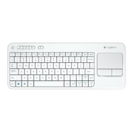 Logitech K400 Plus Wireless Touch Keyboard Biała 920-007146
