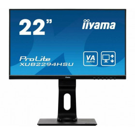 "Monitor iiyama ProLite XUB2294HSU-B1 - 21,5"", 1920x1080 (Full HD), VA, 4 ms, pivot - zdjęcie 6"