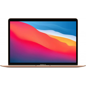 "Laptop Apple MacBook Air 13 MGND3ZE, A - Apple M1, 13,3"" WQXGA IPS, RAM 8GB, SSD 256GB, Apple M1 7-core, Złoty, macOS, 1 rok DtD - zdjęcie 4"
