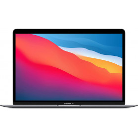 "Laptop Apple MacBook Air 13 MGN63ZE, A - Apple M1, 13,3"" WQXGA IPS, RAM 8GB, SSD 256GB, Apple M1 7-core, Szary, macOS, 1 rok DtD - zdjęcie 4"