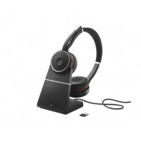 Jabra Evolve 75 MS Stereo + charging stand - 7599-832-199