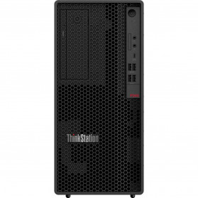 Stacja robocza Lenovo ThinkStation P340 30DH00G0PB - Tower, i7-10700, RAM 16GB, SSD 512GB, DVD, Windows 10 Pro, 3 lata On-Site - zdjęcie 4