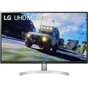 """Monitor LG 32UN500-W - 32"""", 3840x2160 (4K), 60Hz, VA, FreeSync, 4 ms, Biały - zdjęcie 5"""