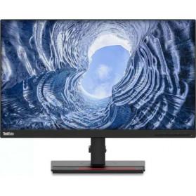 """Monitor Lenovo T24i-2L 62B0MAT2EU - 23,8"""", 1920x1080 (Full HD), 60Hz, IPS, 4 ms, pivot, Czarny - zdjęcie 5"""