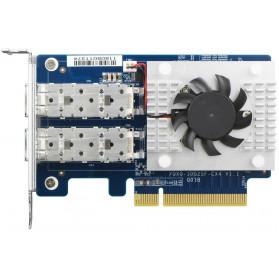 QXG-10G2SF-CX4 QNAP 2-portowa karta sieciowa 10 GbE, Mellanox ConnectX-4 Lx - zdjęcie 1