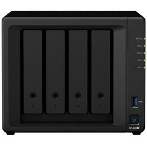 Serwer NAS Synology Desktop Plus DS420+ - Desktop, Intel Celeron J4025, 2 GB RAM, 4 wnęki, 2 x M.2, hot-swap, 3 lata Door-to-Door - zdjęcie 3