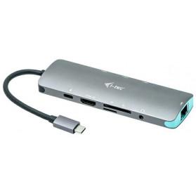 i-tec USB-C Metal Nano Docking Station 4K HDMI LAN + Power Delivery 100 W - zdjęcie 2