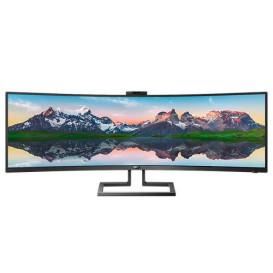 """Monitor Philips 499P9H, 00 - 48,8"""", 5120x1440, 32:9, zakrzywiony, VA (zakrzywiony), 5 ms - zdjęcie 6"""