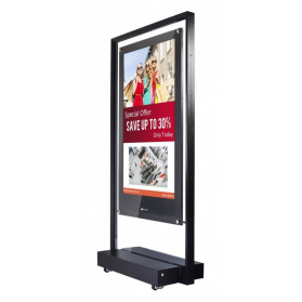 "Monitor AG NEOVO DX-55 - 55"", 1920x1080 (Full HD), MVA, 6,5 ms - zdjęcie 4"
