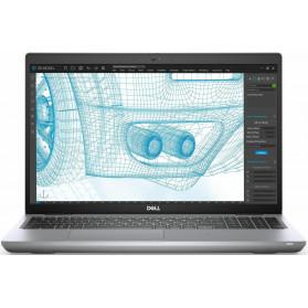 "Laptop Dell Precision 3561 N012P3561EMEA_VIVP - i7-11850H, 15,6"" FHD IPS, RAM 32GB, SSD 1TB, Quadro T1200, Szary, Windows 10 Pro, 3OS - zdjęcie 6"