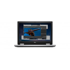 """Mobilna stacja robocza Dell Precision 7740 1021709823319 - Xeon E-2276M, 17,3"""" 4K IPS, RAM 16GB, 256GB, Quadro RTX3000, Win 10 Pro - zdjęcie 4"""