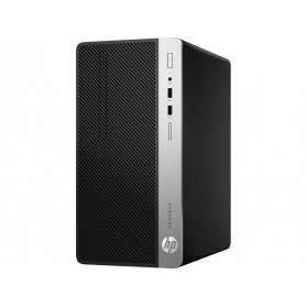 Komputer HP ProDesk 400 G6 7EL67EA - Micro Tower, i3-9100, RAM 8GB, SSD 256GB, DVD, Windows 10 Pro - zdjęcie 4