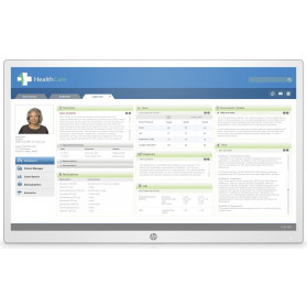 "Monitor HP Healthcare Edition HC271p 3ME71AA - 27"", 2560x1440 (QHD), AHVA, 12 ms, pivot, kamera, USB-C, Biały"
