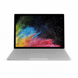 """Laptop Microsoft Surface Book 2 HNQ-00014 - i7-8650U/13,5"""" 3K MT/RAM 16GB/SSD 1TB/NVIDIA GeForce GTX 1050/Srebrny/Windows 10 Pro"""