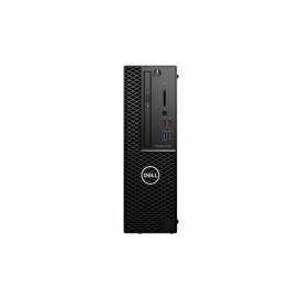 Stacja robocza Dell Precision 3431 1019147256910 - SFF, i7-9700, RAM 16GB, SSD 256GB + HDD 1TB, Quadro P620, DVD, Windows 10 Pro, 3OS - zdjęcie 4